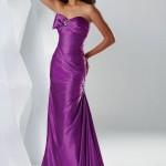 Mor Renkli Trend Abiye Modelleri