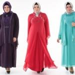 Renkli Abiye Modelleri