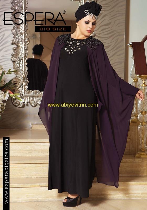 Espera Siyah Uzun Abiye