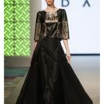 Siyah Düz Abiye Elbise