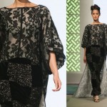 Siyah Dantelli Abiye Elbise