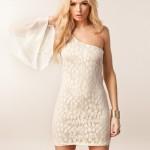 adil ışık beyaz abiye elbise