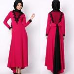 Pembe Renk Elbise
