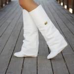 beyaz bayan çizme modelleri