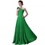 çimen yeşili elbise