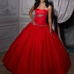 kırmızı prenses model abiye
