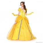 sarı prenses model abiye