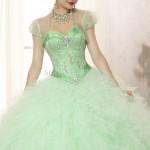 yeşil prenses model abiye