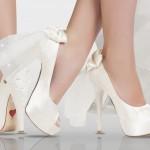 kurdeleli gelin ayakkabısı modeli