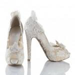 modern gelin ayakkabısı modeli