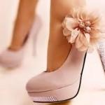 pudra abiye ayakkabı modeli