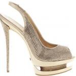 simli abiye ayakkabı modeli