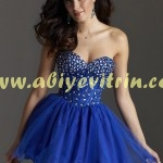 Saks mavisi genç kız abiye modelleri