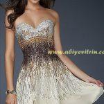 Lame Gold Abiye Modeli