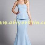 Peplum Elbise Modeli