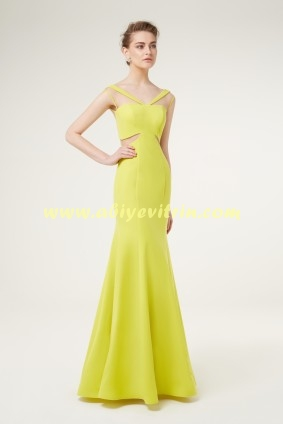 2855b748a9ac1 Yağ Yeşili Elbise Modeli | Abiye Vitrin