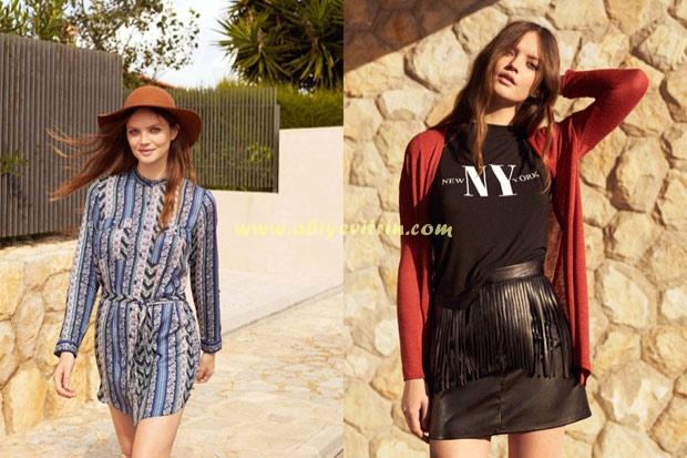 Bahar uzun gömlek elbise modelleri