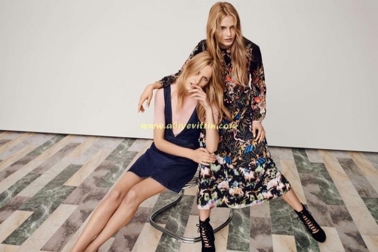 Bahar ve Yaz kot elbise modelleri