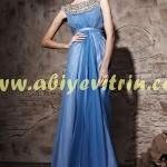 Açık mavi genç kız abiye modelleri