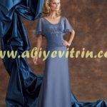Şık Kayınvalide abiye elbise