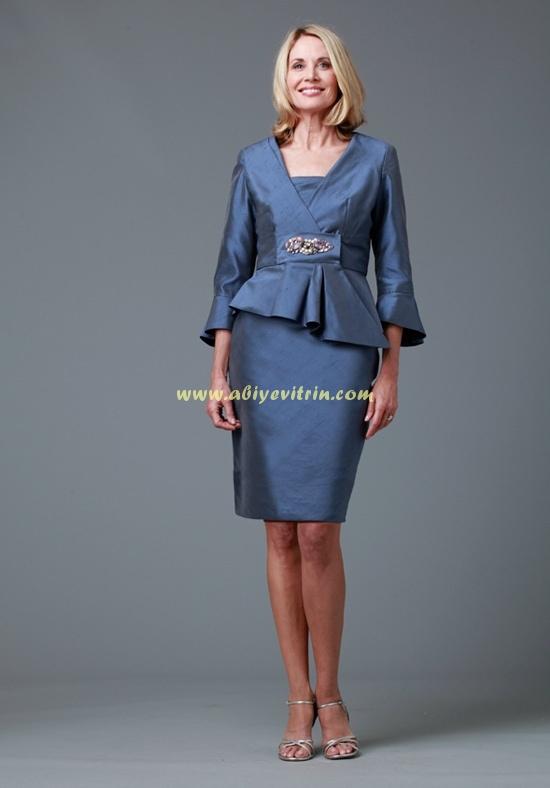 70076d9f927f9 Kayınvalide abiye şifon elbise | Abiye Vitrin
