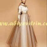 Kapalı sünnet annesi elbise modeli