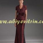 Orta yaş özel abiye elbise