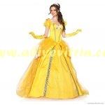sarı prenses abiye modelleri