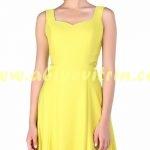 sarı söz elbisesi modelleri