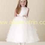 Beyaz Çocuk Abiye Modelleri