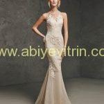 Dekoltesiz Abiye Elbise Modelleri