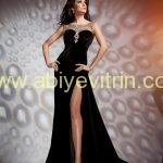 Kadife Zara Abiye Modelleri