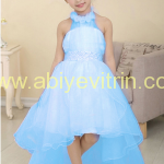 Mavi Çocuk Abiye Modelleri