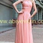 Pembe Zara Abiye Modelleri